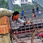bicycle labour, China